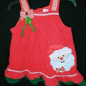 Rare Editions Holiday Santa Claus Christmas Dress